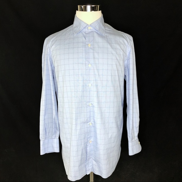 Isaia Other - ISAIA Mens long sleeve button up 16 1/2 - 42